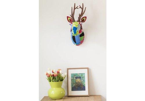 Reindeer trophy head