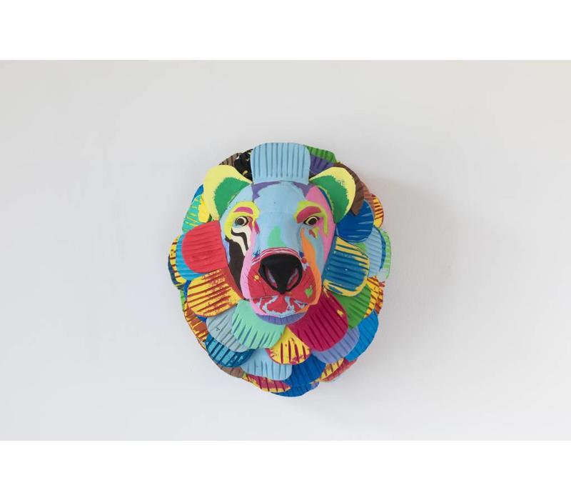 Lion trophy head