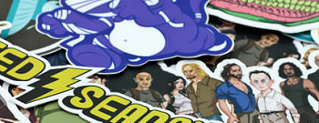 Contour stickers