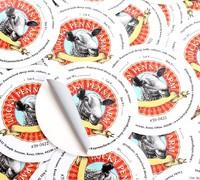 Ronde stickers. Ronde stickers kunt u hier maken en bestellen.