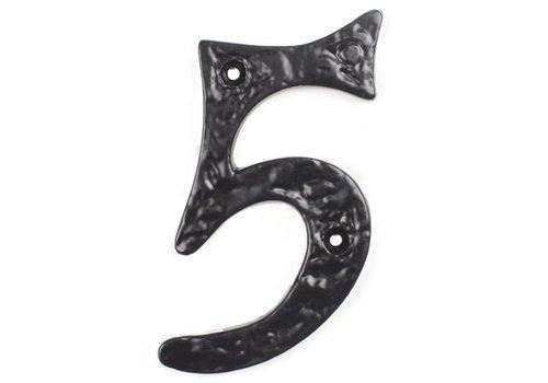 Gusseisen Hausnummer 5