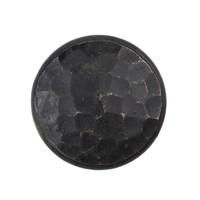 Gusseisen Möbelknopf 32mm - schwarz