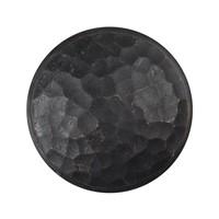 Gusseisen Möbelknopf 42mm - schwarz