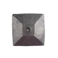 Schmiedeeisen Ziernagel 24 x 24 x 35mm - Pyramidenförmig