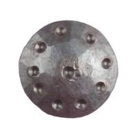 Schmiedeeiserner Ziernagel 24 x 35mm - rund