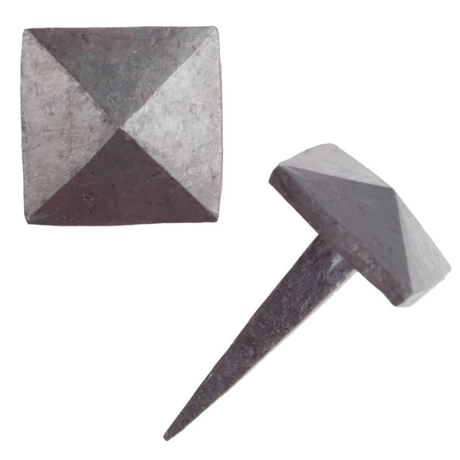 Schmiedeeiserner Ziernagel 24 x 24 x 35mm - Pyramidenförmig