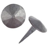Schmiedeeiserner Ziernagel 20 x 35mm - rund