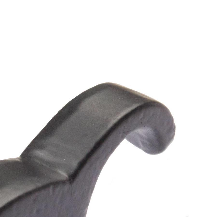 Gusseisen Deckenhaken - schwarz