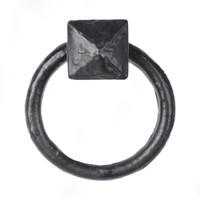Gusseisen Möbelgriff Nagel - schwarz