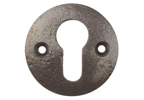 Schlüsselrosette PZ - blank lackiert