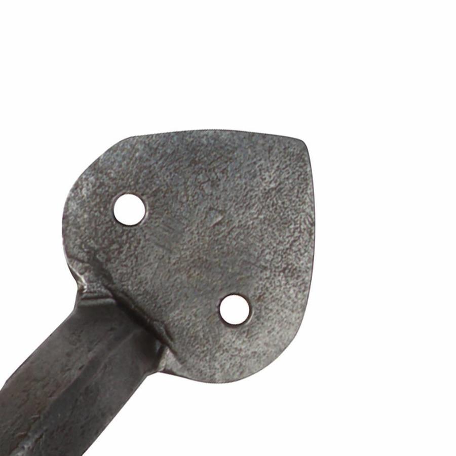 Möbelgriff spitz 153mm - Zinn-Effekt