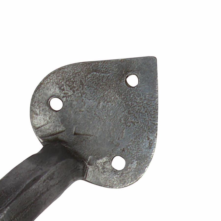 Möbelgriff spitz 203mm - Zinn-Effekt