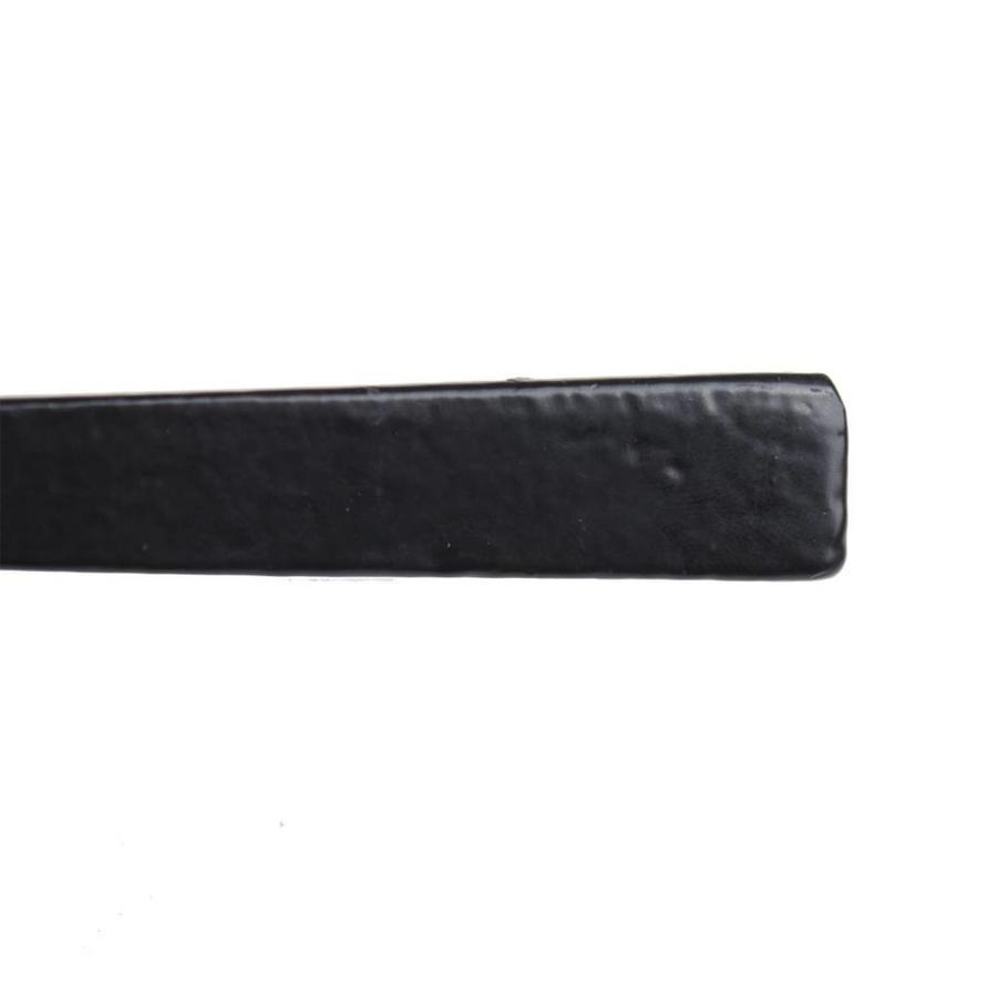 Gusseisen Türdrücker auf geradem Schild - BB-Schloss - 72mm