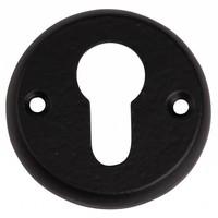 Gusseisen Schlüsselschild PZ 52mm - schwarz