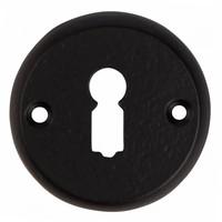 Gusseisen Schlüsselschild BB 52mm - schwarz