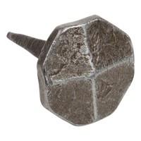 Schmiedeeisen Nagel 22 x 22 x 35mm - achteckig - Zinn-Effekt