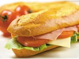 junior deal 1/3 baguette met kaas 1.95€