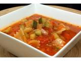 Tomatensoep minestrone