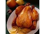 Gebraden Kippen aan het spit gebakken