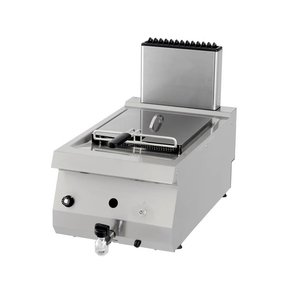 Maxima Heavy Duty Gas Fryer 1 x 12.0L with Faucet