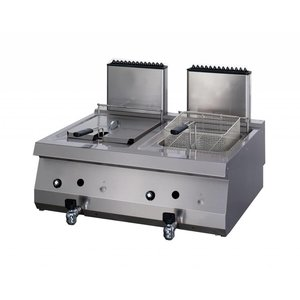 Maxima Heavy Duty Gas Fryer 2 x 12.0L with Faucet