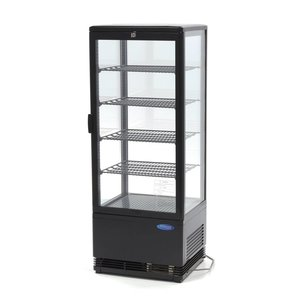 Maxima Refrigerated display 98L Black