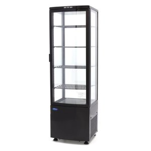 Maxima Refrigerated display case 235L Black