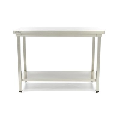 Maxima Stainless Steel Workbench 'Deluxe' 1000 x 600 mm
