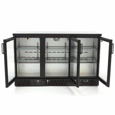 Maxima Deluxe Barkoeler / Displaykoeler / Flessenkoeler 3 Klapdeuren