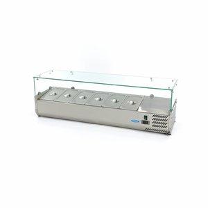 Maxima Vitrine Réfrigérée / Froide de Comptoir 140 cm - 1/3 GN