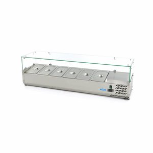 Maxima Vitrine Réfrigérée / Froide de Comptoir 150 cm - 1/3 GN