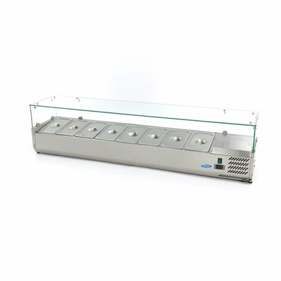 Maxima Countertop Refrigerated Display 180 cm - 1/3 GN