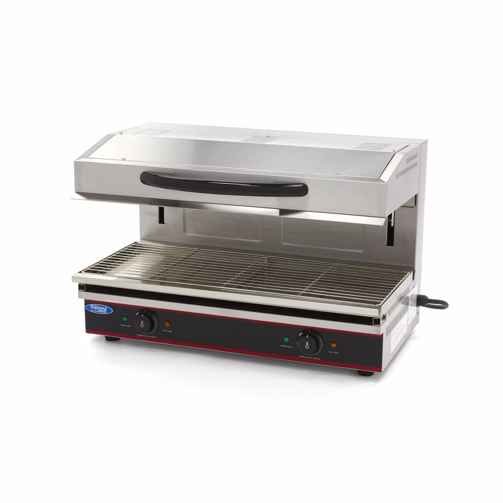 maxima deluxe salamander grill with lift 790x320mm 56 kw - Salamander Kitchen