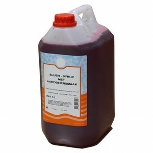 Maxima Slush Syrup Strawberry 5L