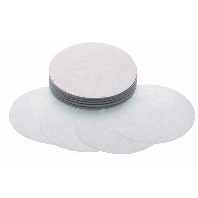 Maxima Hamburger Blätter 130 mm - Weiß Papier - 1000 Stück