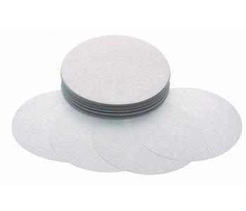 Maxima Hamburger Blätter 100 mm - Weiß Papier - 1000 Stück