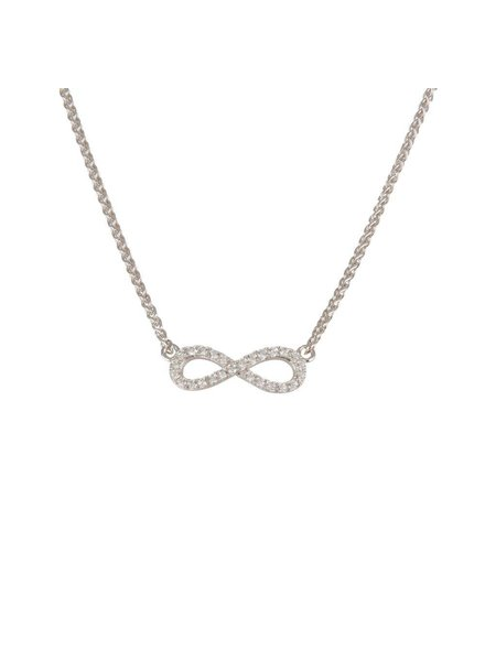 Ketting Zilver met Infinity symbool