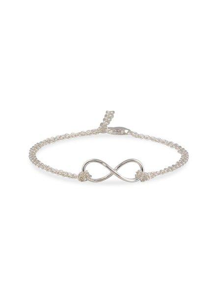 Armband Zilver met Infinity symbool