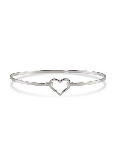 Armband zilver met hartje