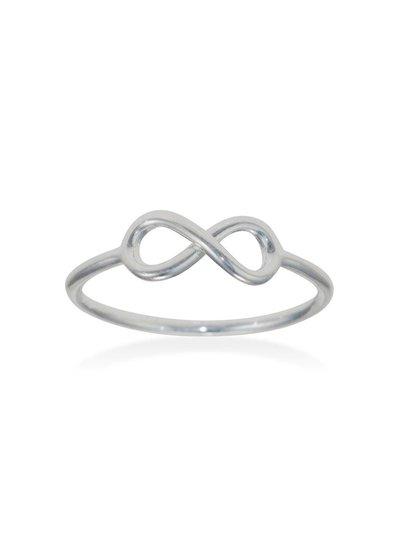 Zilveren fantasiering Infinity