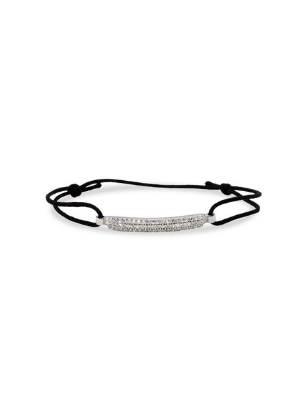 Geknoopte armband met Zilver
