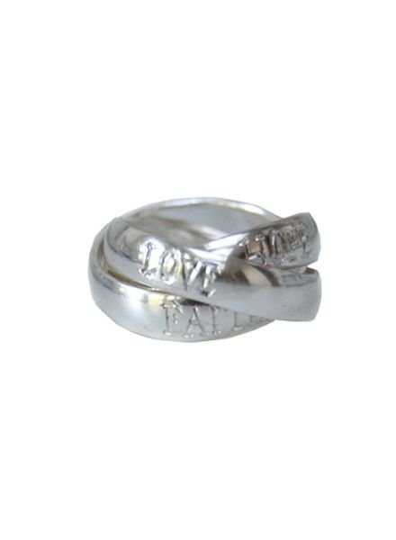 Faith Hope Love Ring