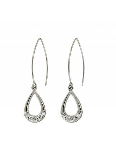 Zilveren oorhangers