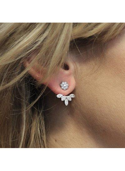 Double dots bloem zirkonia