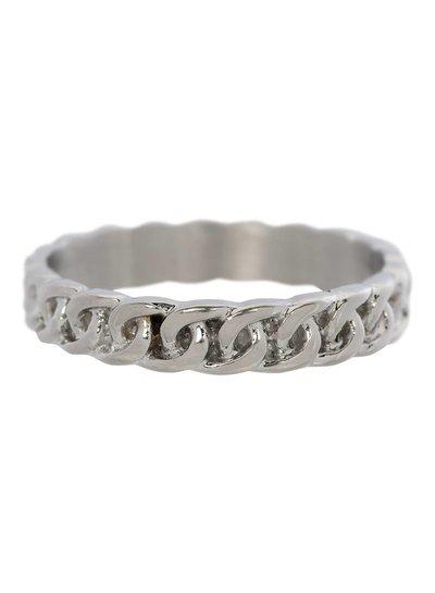 iXXXi Jewelry iXXXi Ring 4 mm Curb Chain Zilver – R3201-3