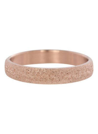 iXXXi Jewelry iXXXi Ring 4 mm Sandblasted Rose – R2901-2