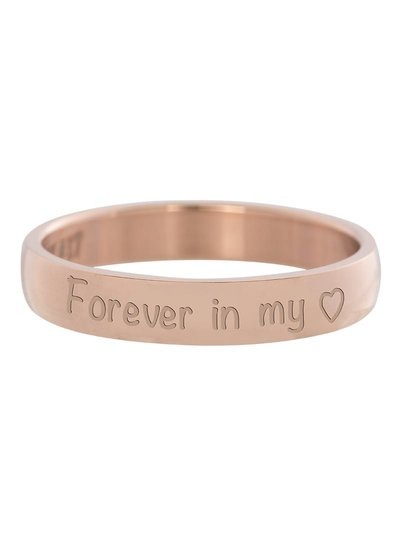 iXXXi Jewelry iXXXi Ring 4 mm Forever in my heart Rose - R2106-2