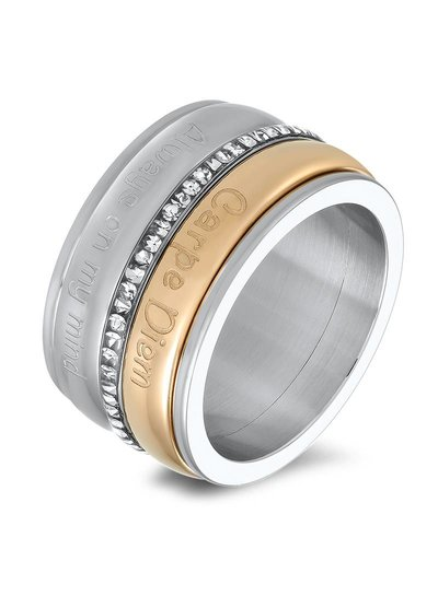 iXXXi Jewelry iXXXi Basis Ring 12 mm Zilver - R2001-3