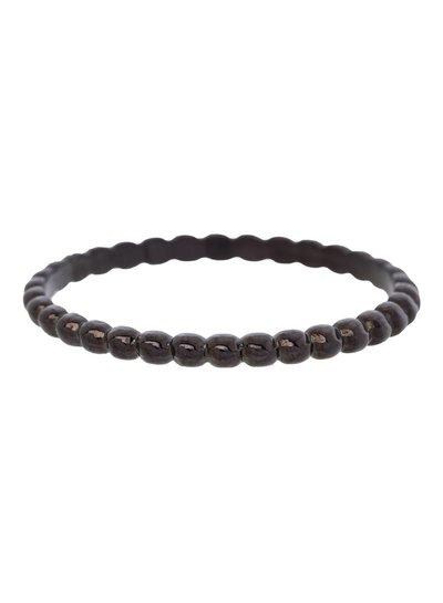 iXXXi Jewelry iXXXi Ring 2 mm bolletjes Zwart – R2802-5