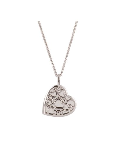 Uniek persoonlijk cadeau is deze graveerhanger met hart.